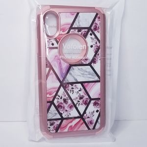 "iPhone XR Floral Hybrid Phone Case 6.1"""
